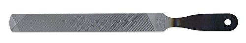 Nicholson Hand File with Handle (Boxed), American Pattern, Single/Double Cut, Rectangular, 8