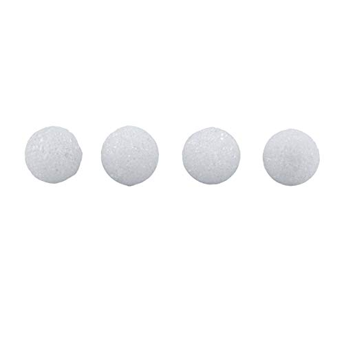 Hygloss Products White Styrofoam Balls for Arts and Crafts - 1 Inch, 100 Pack