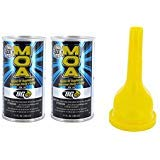 BG MOA Motor Oil Additive 11oz (2 Pack) with Funnel