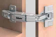 (Blum® 155° Zero Protrusion Hinges)