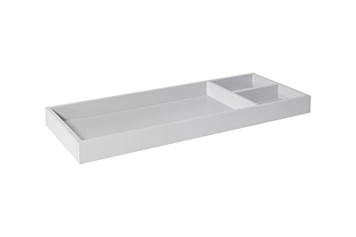 (DaVinci Universal Wide Removable Changing Tray (M0619), Fog Grey)