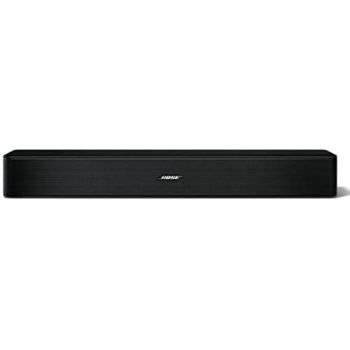 Bose Solo 5 TV Soundbar Sound System with Universal Remote Control, Black - 732522-1110