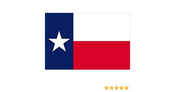 5/'x8/' ft Texas Flag Sewn Stripes Embroidered Stars Brass Grommets