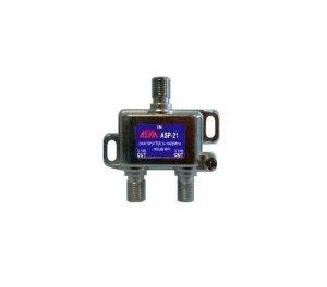 DISH APPROVED DIGITAL 2-WAY SPLITTER (5-1002 mhz, -100db RFI, 6KV SURGE) ()
