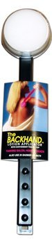 The Reach Backhand Lotion Applicator Midnight Black for applying to back