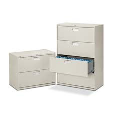 HON673LS - 600 Series Three-Drawer Lateral File