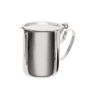 Stainless Steel Sugar-Creamer Stacking Table Server - 10 Ounce Capacity by Pride Of India
