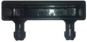 BISHOPS BEDS LTD - Soporte para láminas de somier, para barra central moderno 52 mm Negro