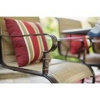 Belleville Rocking Padded Sling Outdoor Dining Chairs