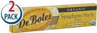 Pasta Deboles (DeBoles Organic Jerusalem Artichoke Spaghetti Style Pasta -- 8 oz Each / Pack of 2 by DeBoles)