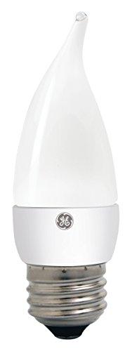 (GE Lighting 89950 Energy-Smart LED 4.5-watt, 300-Lumen Bent Tip Bulb with Medium Base, Frosted, 1-Pack)