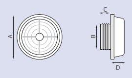LUX246 Aspiratore da parete o sottocappa con A//C automatica /›.100