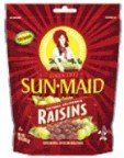 Sunmaid Sun Maid Natural California Raisins 10OZ (Pack of 24)
