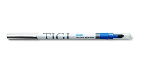 TIGI Cosmetics Perfect Eyeliner, Blue, 0.04 Ounce Blue Eyeliner Makeup