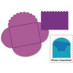 Envelope Mini Scallop (Card & Envelope Mini Scallop Sizzix Die 38-1142)