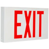Exitronix VEX-U-BP-WB-WH-G2-USA Universal LED Exit ARRA Approved