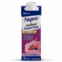Nepro with Carb Steady Complete Nutrition, Mixed Berry, Case of 24 Containers - Alpha Hydroxide Acid