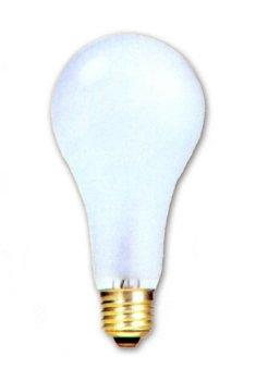 SLI Havells 60150-150A21/IF - 150 Watt A21 Frosted Incandescent Light Bulb, 130 Volt Long - Bulb A21 Light 130v