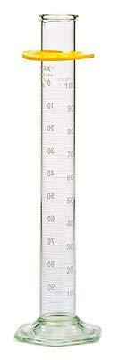 20028W-100-100 mL - KIMAX Reverse Scale Graduated Cylinders, Class A, to Deliver, Kimble Chase - Case of 6