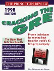 Cracking the GRE 1998, Adam Robinson and Princeton Review Staff, 0679778942