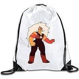 (Discovery Wild Steven Universe Polyester Drawstring Backpack Rucksack Shoulder Bags Gym Bag Home Travel Sport Storage Use)
