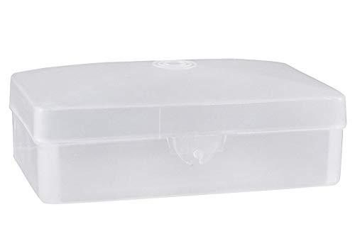Dukal Dawn Mist Translucent Plastic Soap Box 2 1/2
