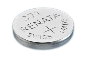 Renata Watch Battery Swiss Made Renata 371 or SR 920 SW 1.5 V (2 x 371 or SR 920 SW)
