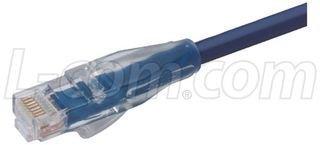 4.27M L-COM TRD815BL-14 PATCH CORD BLUE CAT 5E