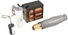 Simkar RKS400-M Hid Ballast And Lamp Kit 120/208/240/277 VAC 400 Watt hp Sodium, 1'' x 1'' x 1''