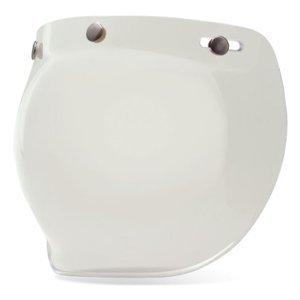 Bell Helmet Shields - Bell Unisex Adult 3-Snap Clear Bubble Shield 7018132