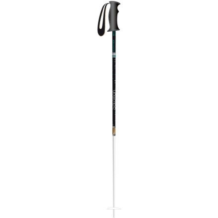 Salomon Origins Skiing Pole (White/Green, 110), Outdoor Stuffs