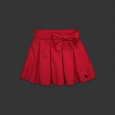Abercrombie and Fitch Women'se Harley Skirt Red Size Large (Abercrombie & Skirt Fitch)
