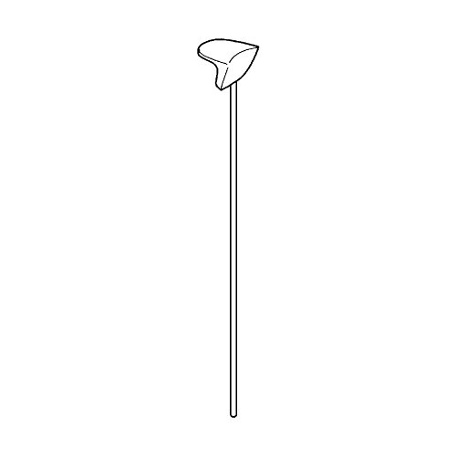 Grohe 06048R00 Pop-up Rod, Polished Brass ()