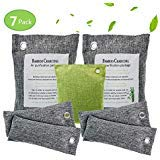 Activated Charcoal Bags ,Bamboo Charcoal Air Purifying Bag - 100% Natural, Breathe Green Charcoal Bags for Home, Shoes, Car - 7 Pack,,