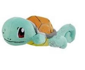 Banpresto Pokemon 37345D Relaxation Time Kutsurogi Starters Sleeping Squirtle Stuffed Plush, (Plush Starter Game)