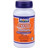 NOW NOW 7-Keto LeanGels, 60 Softgels ( Multi-Pack)