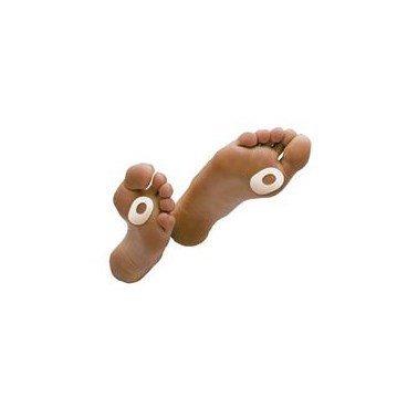 Dr. Jills Felt Oval-shaped Callus Pads 1/8 (100 Pads) by Dr. Jill's