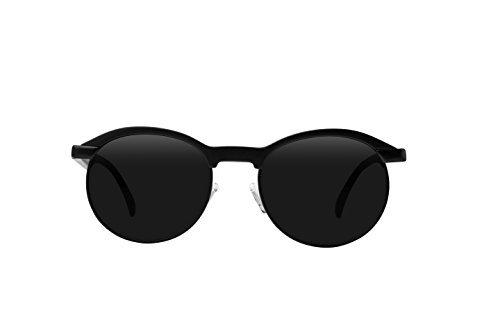 15e07cd755e Filtrate Eyewear Hacienda Sunglasses Matte Black Unisex