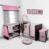 Best Bacati Baby Cribs - Bacati Elephants Pink/Grey 10 Piece Crib Set without Review