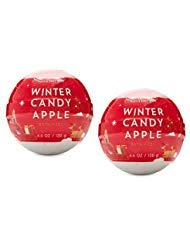 Bath and Body Works 2 Pack Winter Candy Apple 2 Color Sphere...