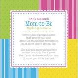 Baby Shower Mom-to-Be Napkin Quiz Game, Paper Luncheon Napkins, 24 ct