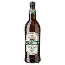 John Crabbie's Cloudy Ginger Beer 700ML Alcoholic Ginger Beer