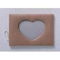 Paper Mache Heart Photo Frames - Package of 6 Picture Frames