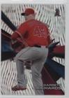 Gr Confetti (Garrett Richards #52/99 (Baseball Card) 2015 Topps High Tek - [Base] - Pattern 1 Waves Confetti Diffractor #HT-GR)