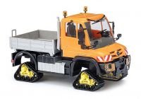 Busch 50921 MB Unimog with Track Drive HO Scale Model Vehicle