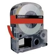 18mm x 8m 10 x Schriftband-Kassetten SS18KW LC-5WBN LC-5WBN9 schwarz auf wei/ß kompatibel f/ür Epson LabelWorks LW-300 LW-300L LW-400 LW-500 LW-600P LW-700 LW-900P LW-1000P King Jim Tepra Pro
