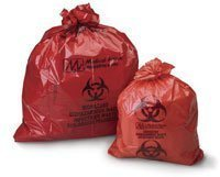 Infectious Waste/Biohazard Bag 23x23