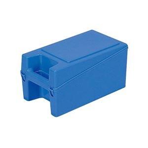 (業務用20個セット)三甲(サンコー) ハンディボックス(工具入れ/ツールボックス) ハンドル付き 3 ブルー(青) 【代引不可】 B01M9GUAEH