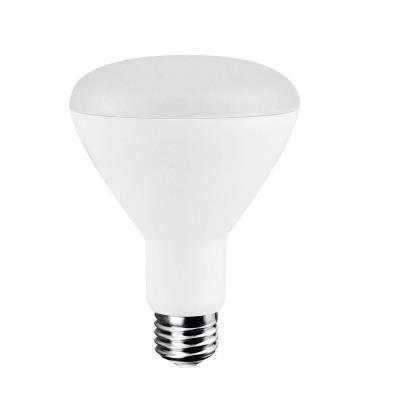 EcoSmart 65W Equivalent Soft White (2700K) BR30 Dimmable LED Light Bulb