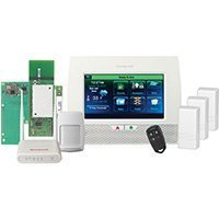 "LYNX Touch 7000 WIFI ZWAVE Wireless Kit Control System by Honeywell 7"" full-color touchscreen with PIR, KeyFob & 3 Door/Window Sensors, WIFI, ZWAVE, WAP-PLUS by Honeywell from Honeywell"
